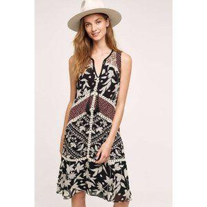 Anthropologie Floreat Midi Dress Embroidered 6